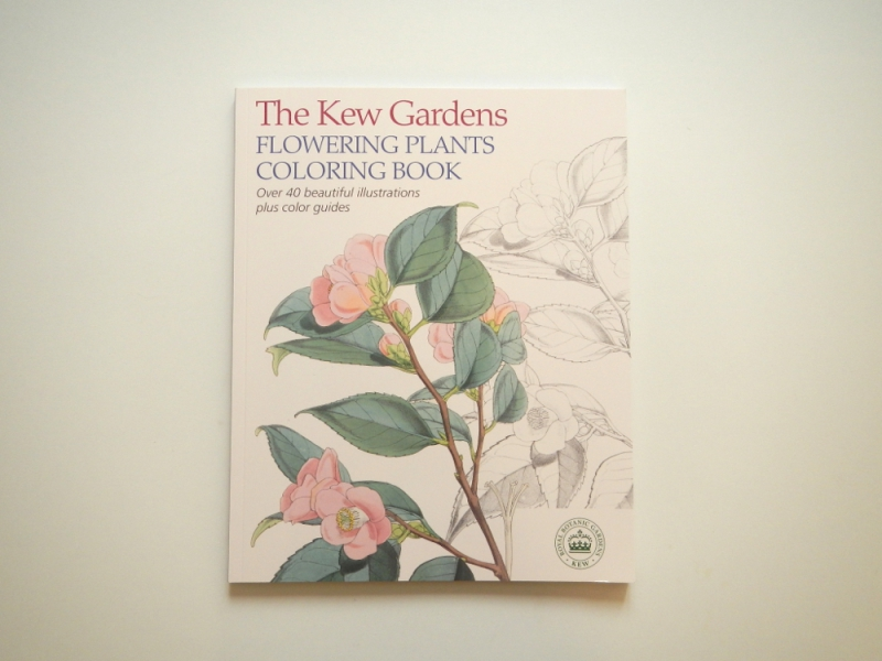 The Kew Gardens  COLORING BOOK